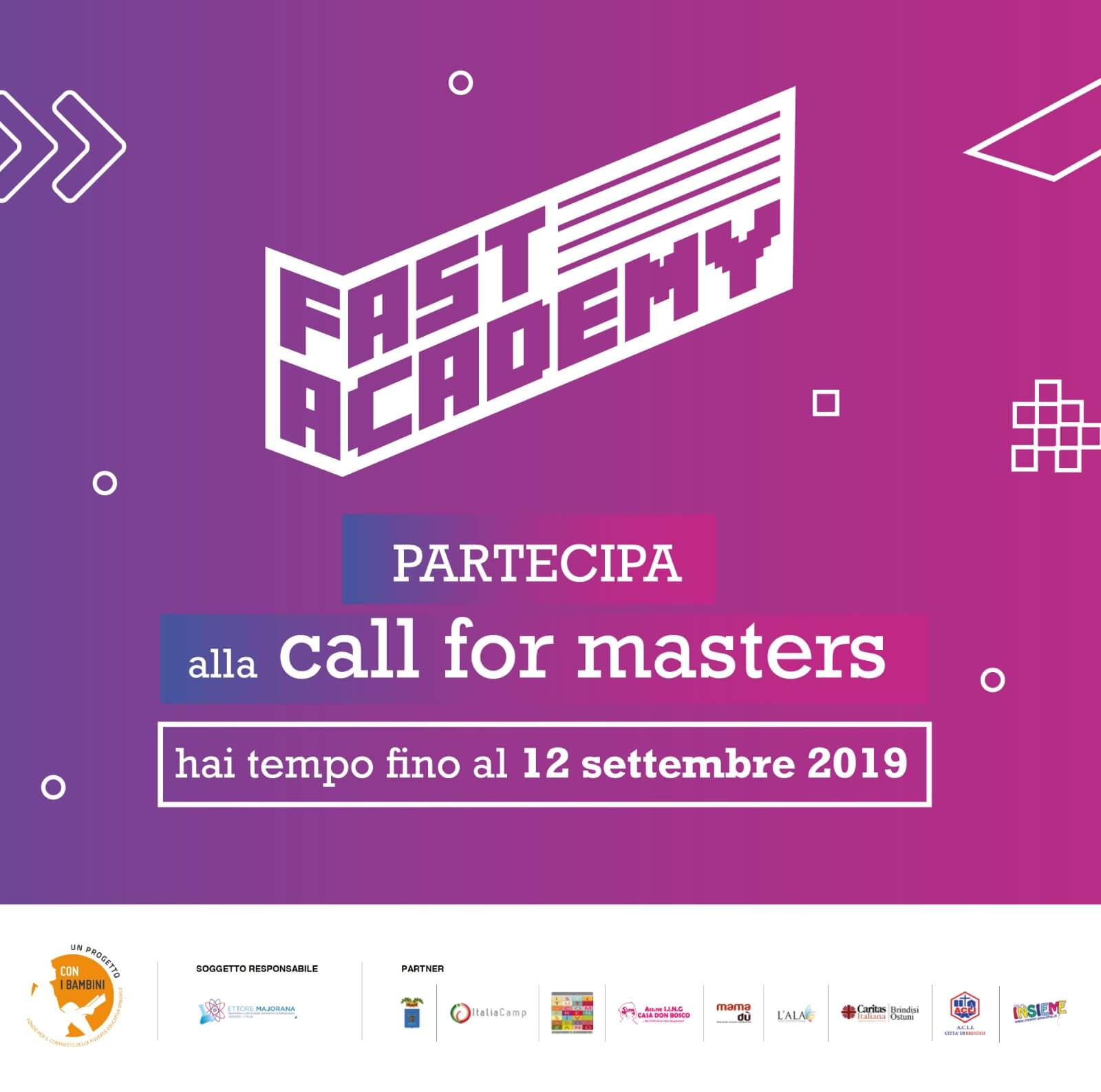 FAST Academy: al via la Call for Masters per la creazione di una community di educatori